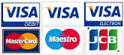Credit cards accepted by Latitude Imports