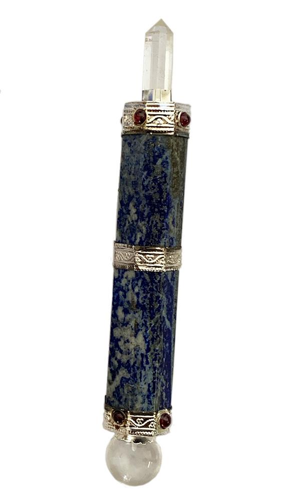 Lapis chakra wand 4 inch