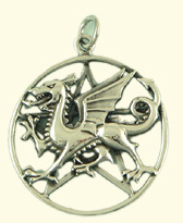 Dragon pentacle