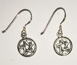 Pentacle ear-rings