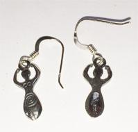 Goddess ear-rings