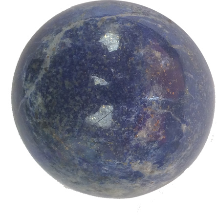 Lapis lazuli Spheres approx. 45mm.