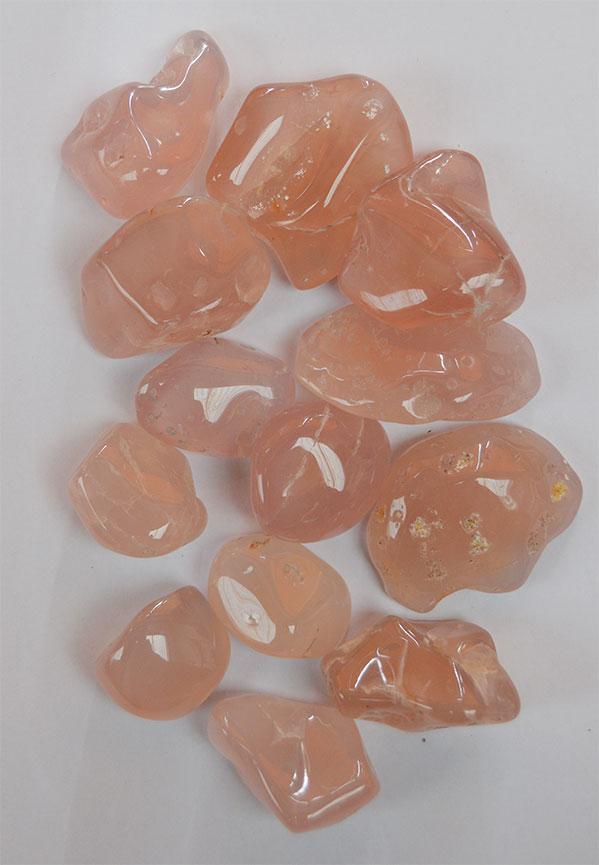 Pink Chalcedony 250g. Bag