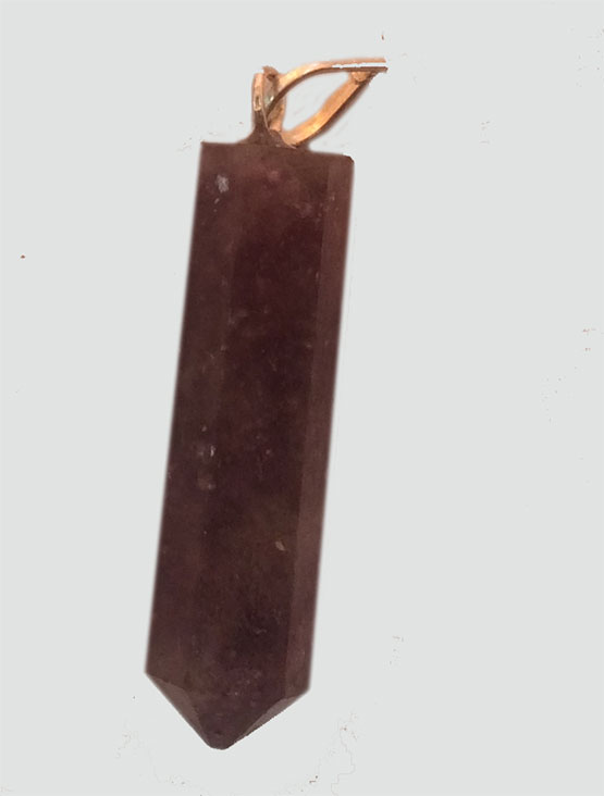 Lepidolite point