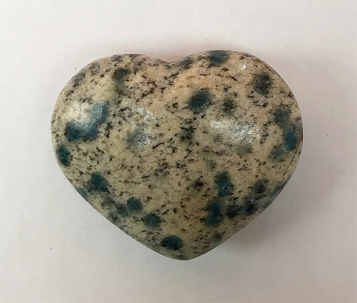 K2 stone Heart 1.7 inches