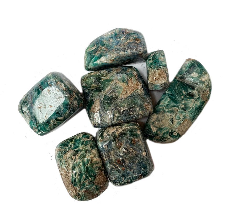 Kyanite, green 250g. Afghan