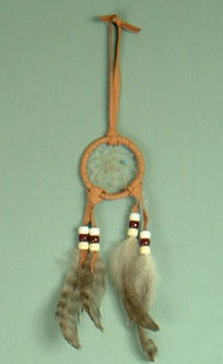 Navajo 2 inch dream catcher
