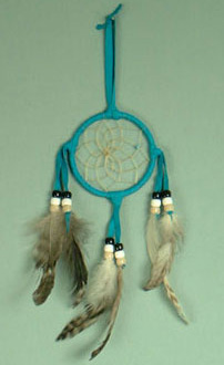 Navajo 3 inch dream catcher