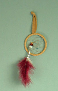 Iroquois 2.5 inch dream catcher