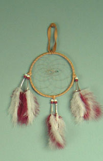 Iroquois 5 inch dream catcher
