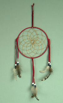 Navajo 6 inch  dream catcher