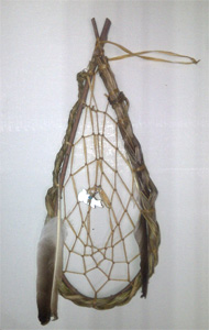 Sweetgrass and willow Dream Catcher 11 x 5 inch