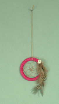 Apache 2 inch  dream catcher