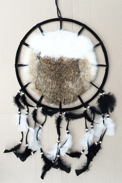 Rabbit pelt Shield 14 inch Mexico