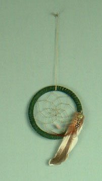 Apache 3 inch  dream catcher