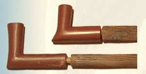 Pipestone pipe 23 inch elbow pipe