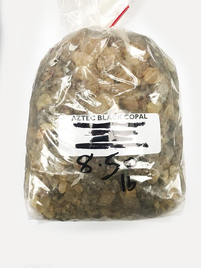 Black Copal, aztec, pound