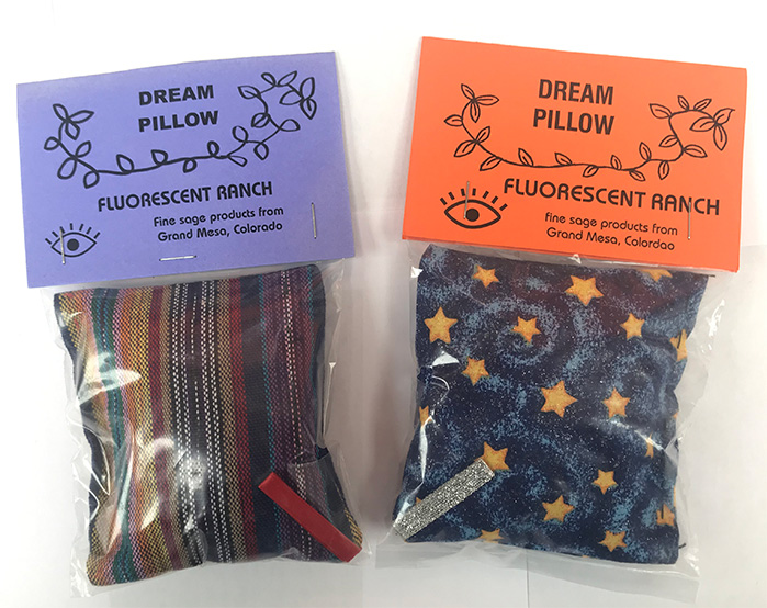 DREAM PILLOW contains herbal blend to enhance the dream state and peaceful sleep