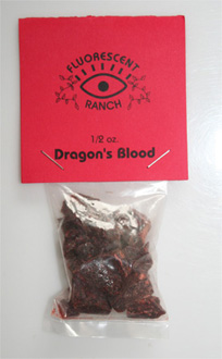 Dragons Blood resin half oz.15g