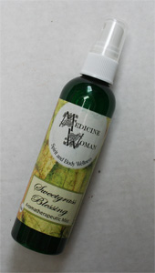 Liquid smudge Sweetgrass mist 4oz.118ml
