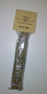 7 inch Black Sage Smudge Stick