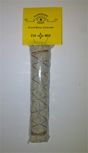 7 inch Zia Mix Smudge Stick.Blue sage, yerba santa, chapparal mix