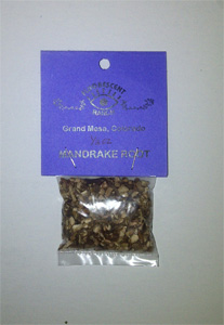 Mandrake Root half oz Bag 15g