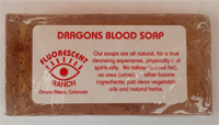Dragons blood soap