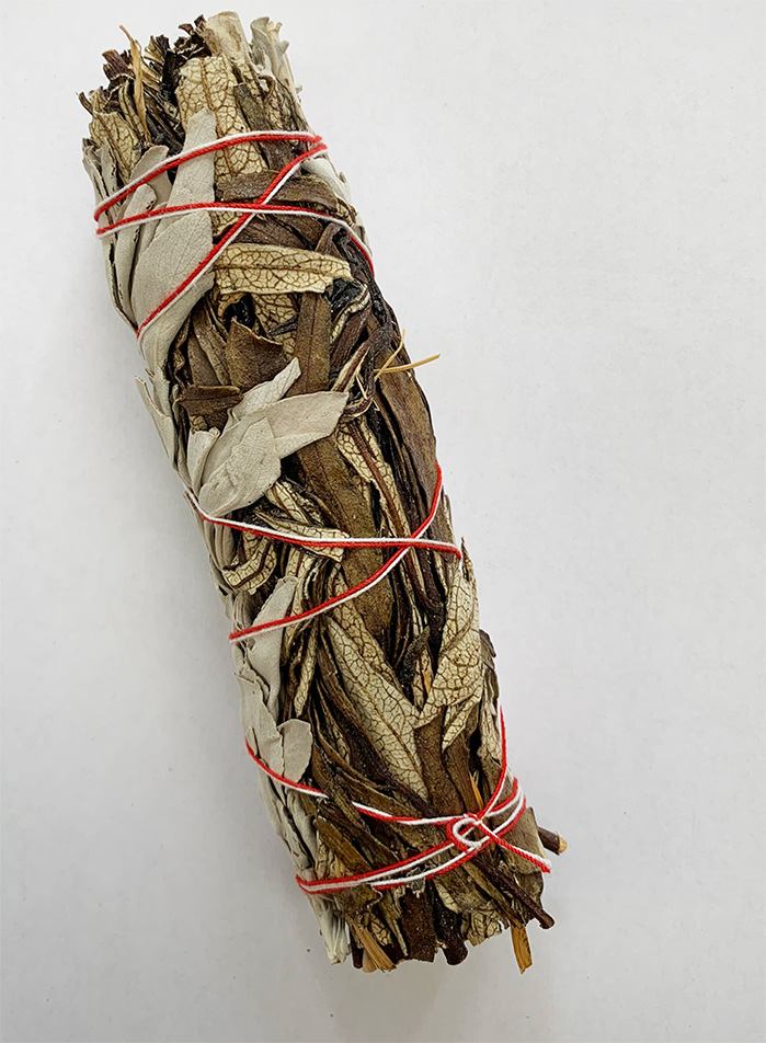 White sage and Yerba santa 6 inch