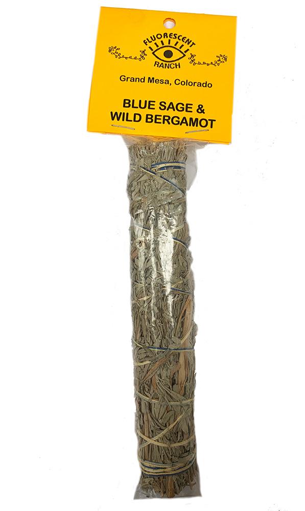Blue Sage and wIld Bergamot 7 inch