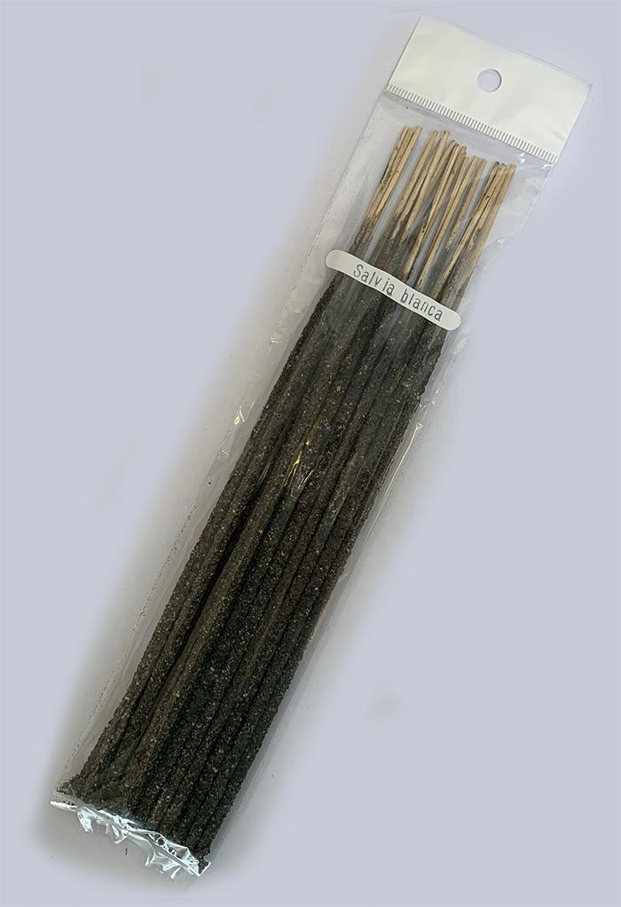 White Sage incense, 20 sticks per pack, mexico