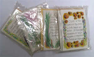 Copal + Cedar + sweetgrass 3 x 6 card packs