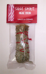 Small sage and cedar, 5 inch