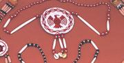 Large rosette necklace. Specify:design as J12 SALE