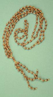 Navajo ghost beads, cedar various colour beads