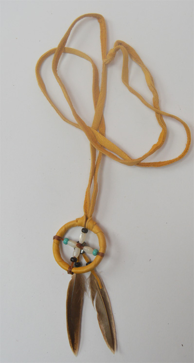 Navajo Medicine Wheel Necklace