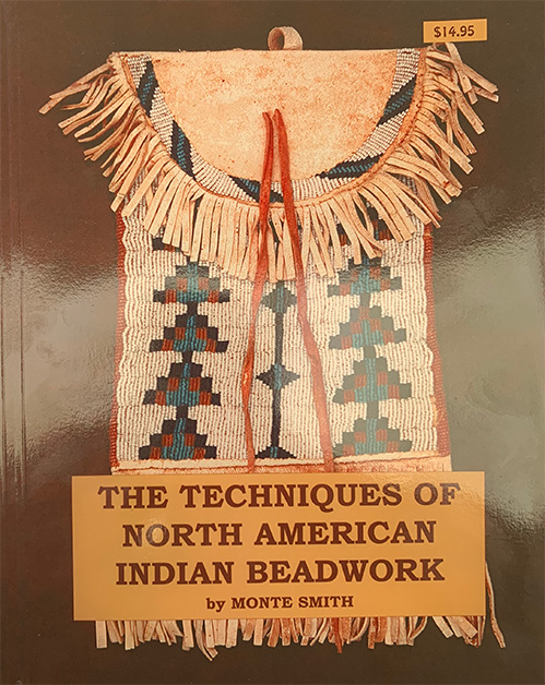 The complete guide to Native American beadwork by J.Monture. With colour photos