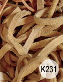 Tan deer lace 10 per bag 40 inch