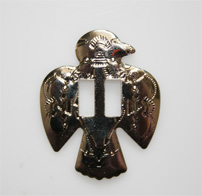 Conchos, metal bird 10 per bag