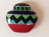 Inlay pottery