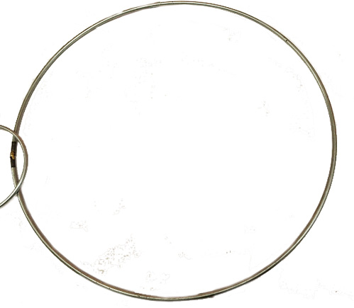 Metal rings for  dream catchers etc. 10 inch