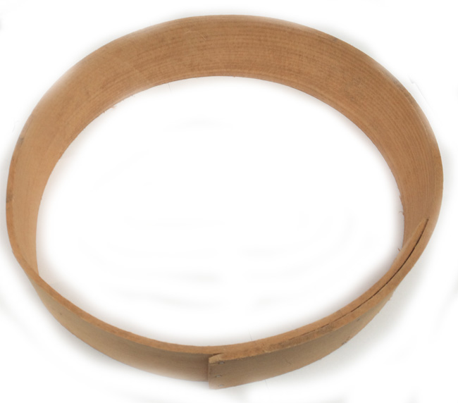 Drum Frame round 11 inch beech stapled cheaper option limited supply