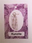 Kunzite, pink