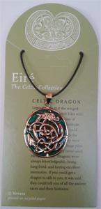Celtic Dragon -embossed