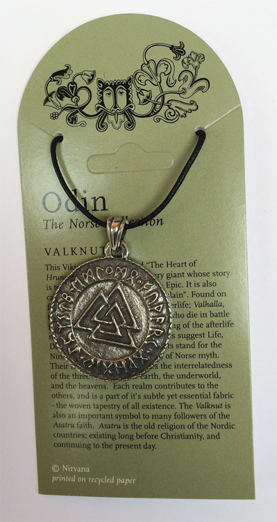 Norse Collection – Valknut knot