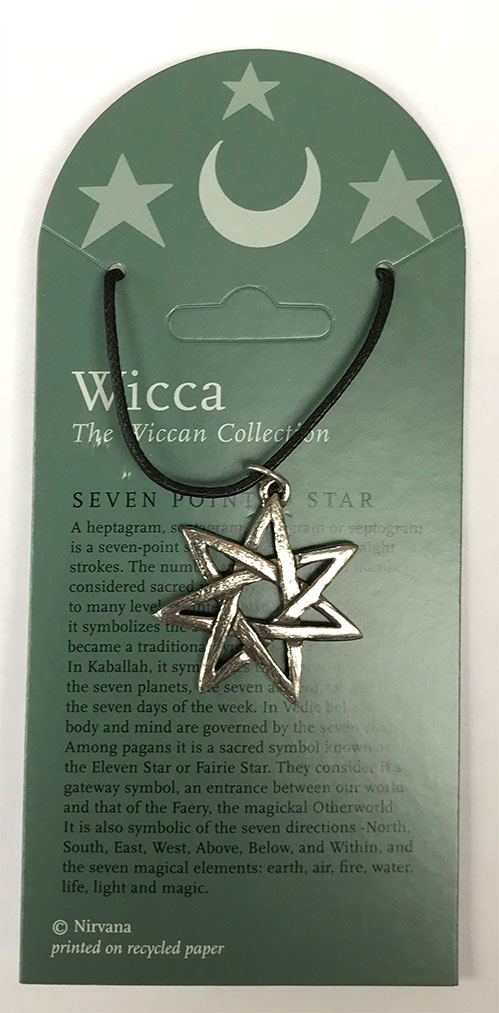 Wiccan Collection Seven pointed Star