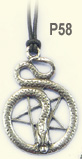 Wiccan Collection Pentacle Of The Snake