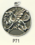 The Wiccan Collection-pentacle of the dragon