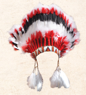 Crown Warbonnet, U.S.A made
