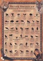 Native American Symbols and Interpretations postcard 5 inch x 7 inch